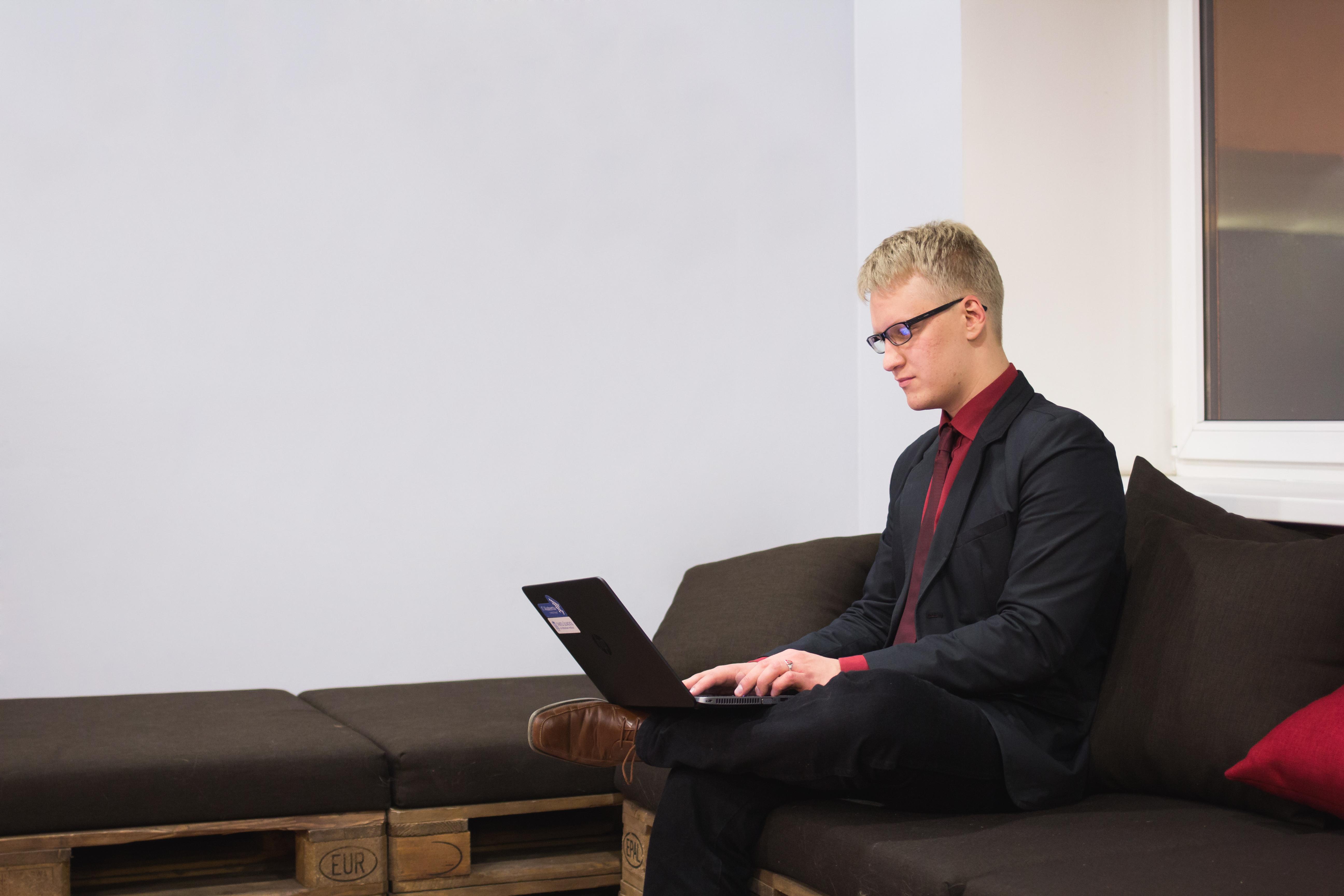 Evert Nõlv: valvetudeng, kes tahab IT abil inimeste elu paremaks muuta