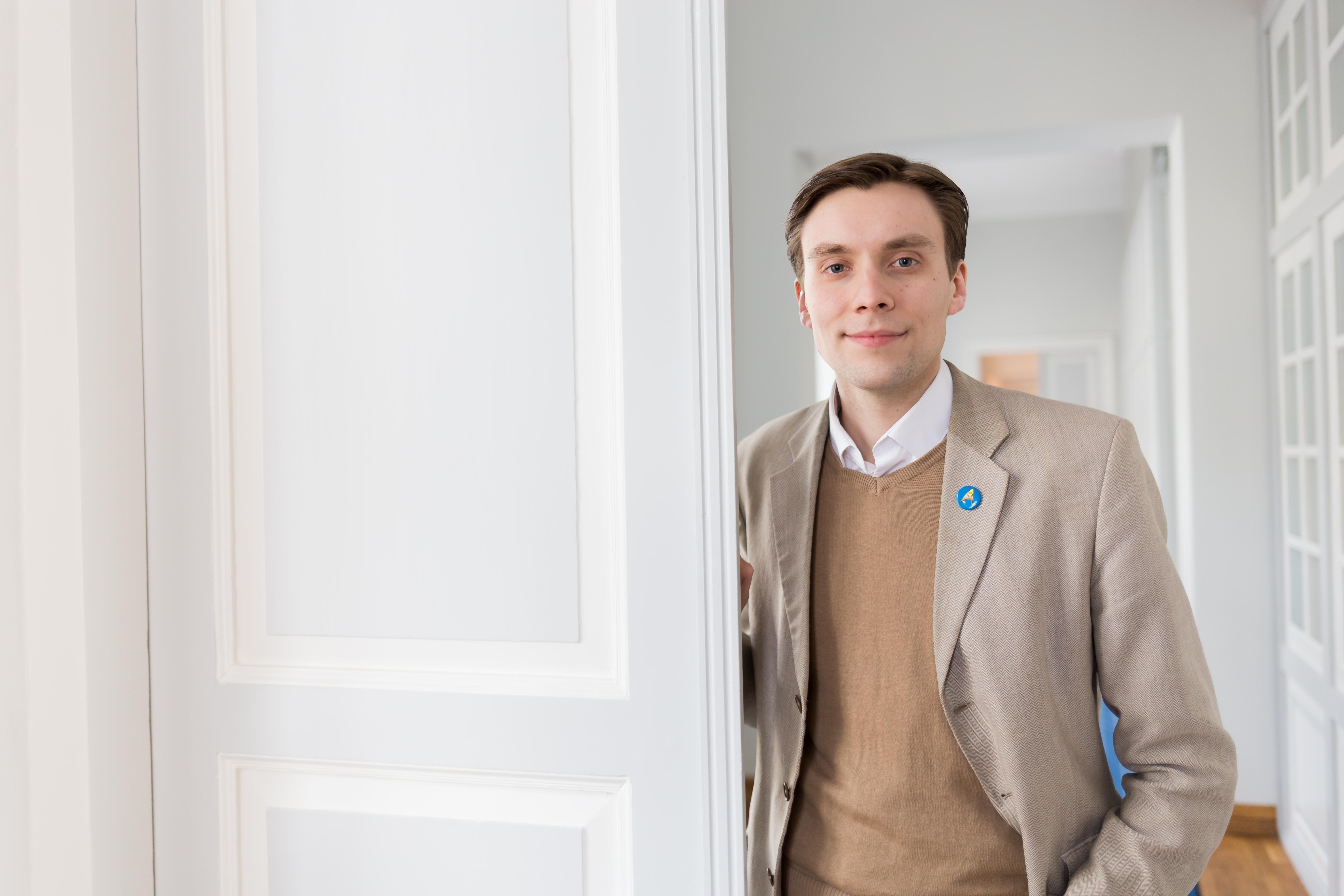 """Martin Noorkõiv: """"Töötan selle nimel, et Tartust saaks üks maailma kõige olulisemaid linnu."""""""