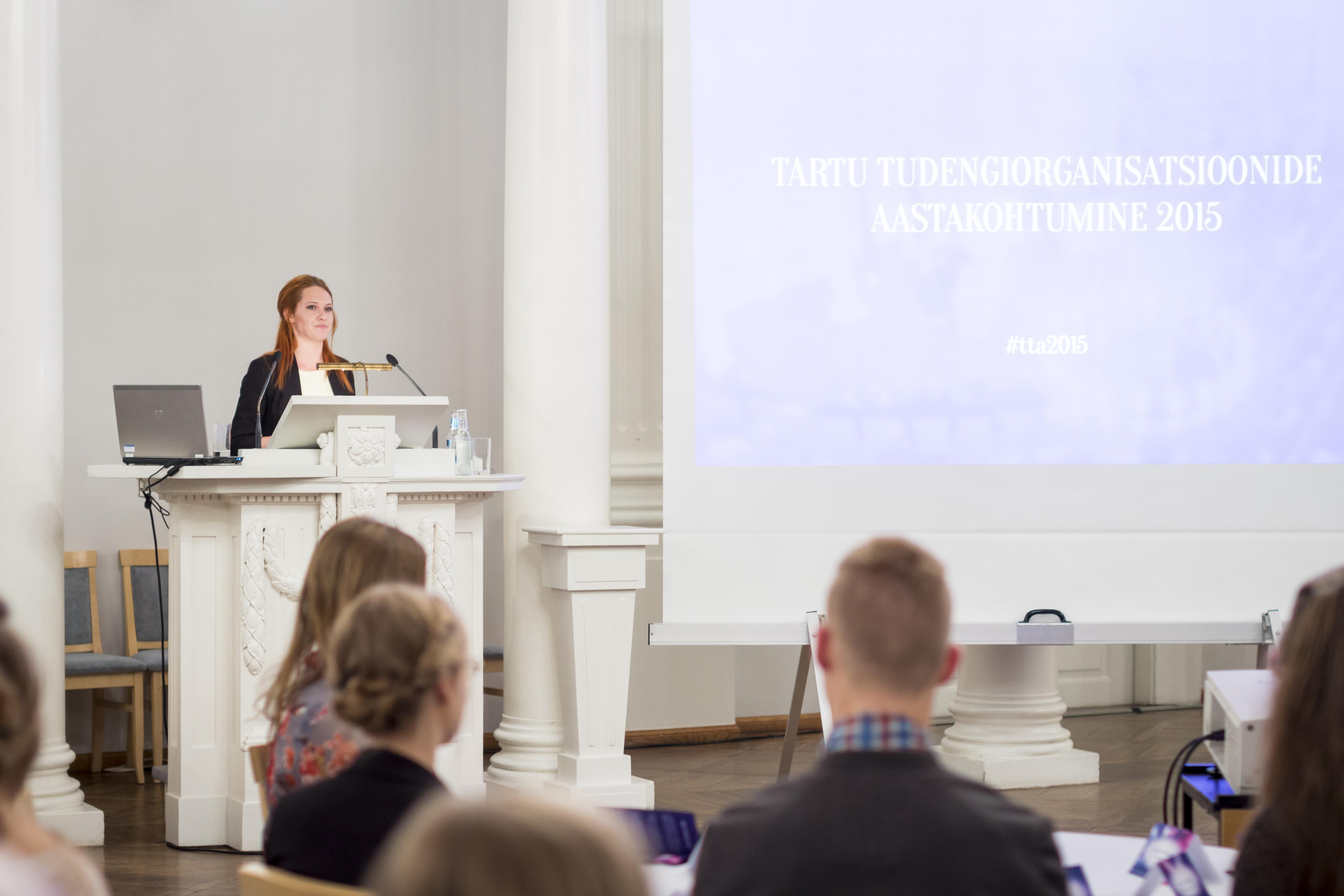 OLE ROHKEM Tartu tudengiorganisatsioonide koostöövõrgustik