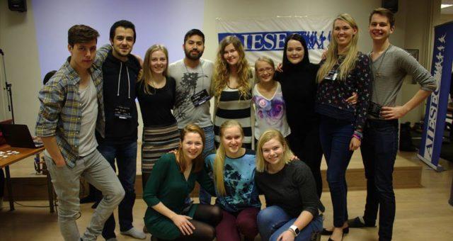 Vana võlg uute liikmete kanda – AIESEC in Tartu lugu